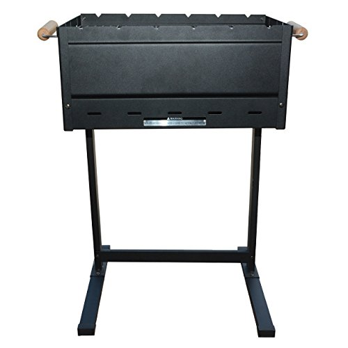 Berghoff Barbecue Grill, schwarz, 63 x 45 x 78.5 cm, 4490285