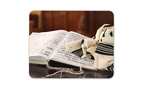 Jüdisches Gebet Schal Maus Matte Pad - Tallit Katan Religiöser Computer Geschenk # 16241