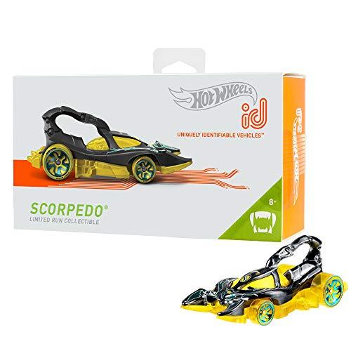 Mattel - Hot Wheels ID Vehículo de juguete, coche Scorpedo , +8 años ( FXB10)