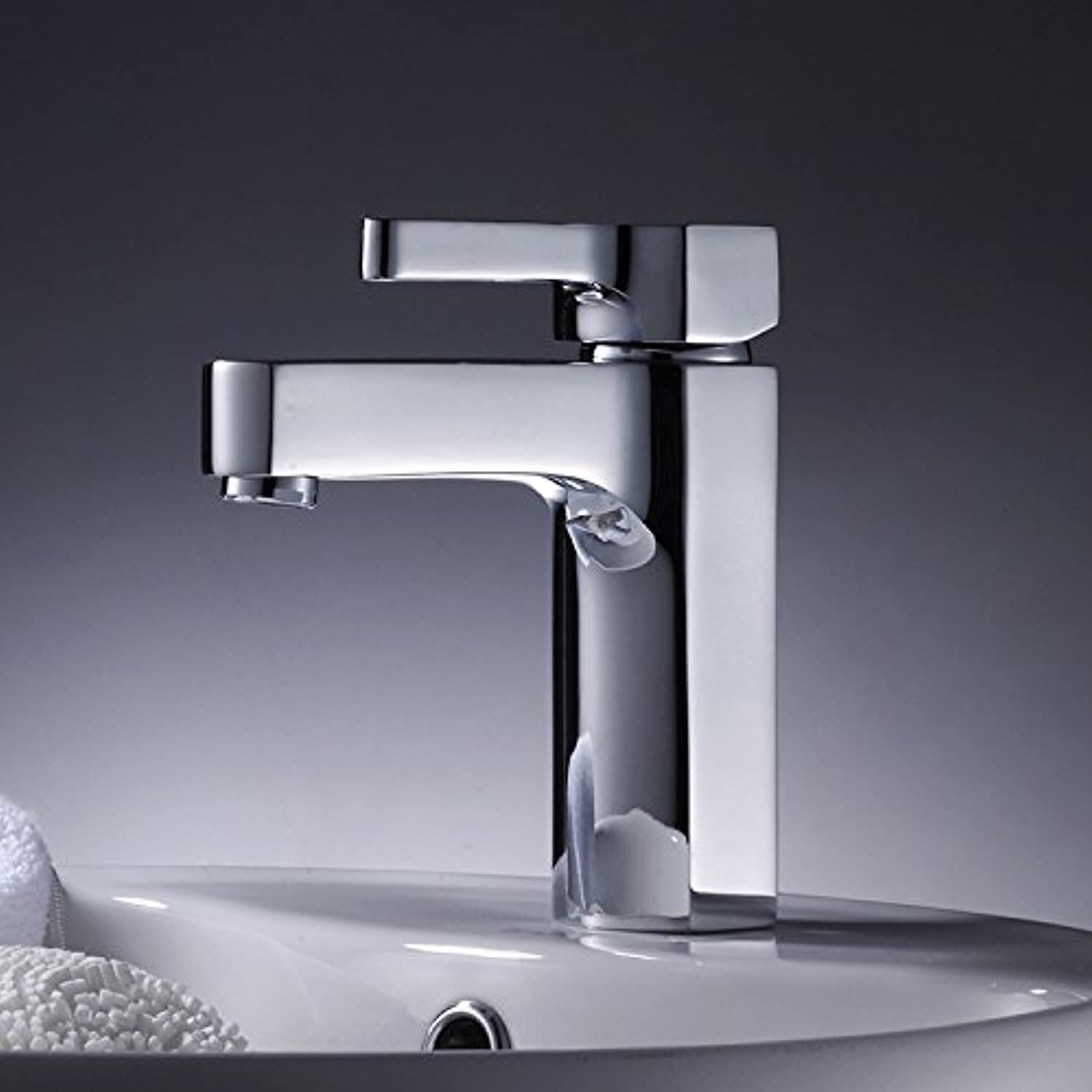 Aawang Basin Sink Mixer Tap Bathroom Faucet Hot And Cold Mixed Faucet Chrome Plated