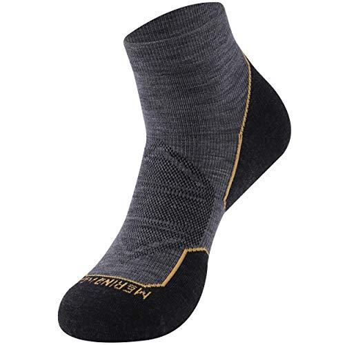 Hiking Merino Wool Socks, Zonent Golf Socks Warm Winter Thermal Socks Ankle Athletic Cycling Socks Ultra-Light Running Socks Basketball Socks Gifts for Women Men Teenage Girls Gifts for Women 1 Pairs