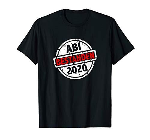 Abitur 2020 Schulabschluss - Bestanden Stempel Abi Geschenk T-Shirt