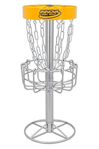 Innova Desktop Discatcher Mini Disc Golf Basket - Yellow