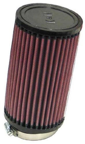 RU-1480 K&N Universal-Luftfilter zum Anklemmen, 6,4 cm, 10 DEG FLG, 10,2 cm OD, 17,8 cm H (Universal-Luftfilter)