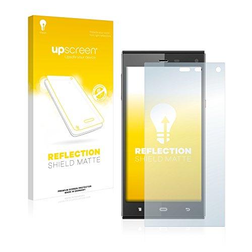 upscreen Entspiegelungs-Schutzfolie kompatibel mit Phicomm Passion P660 – Anti-Reflex Bildschirmschutz-Folie Matt