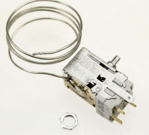Ersatzthermostat Kühlschrank für Atea A130584 Bauknecht 481228238084 Ranco K59S1899 K59S1899500 incl Lampenadapter
