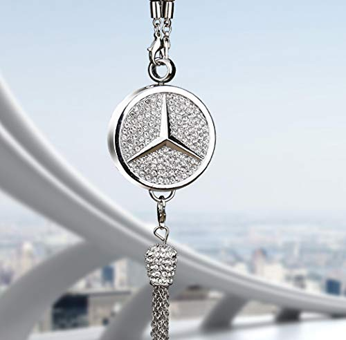 Anaisi Car Rearview Mirror Perfume Pendant for Benz Accessory Benz Perfume Air Freshener Rearview Pendant