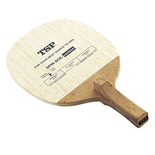 ティエスピー TSP ティーエスピー TSP 卓球 反転式ペンラケット スピンエースカーボン 021602