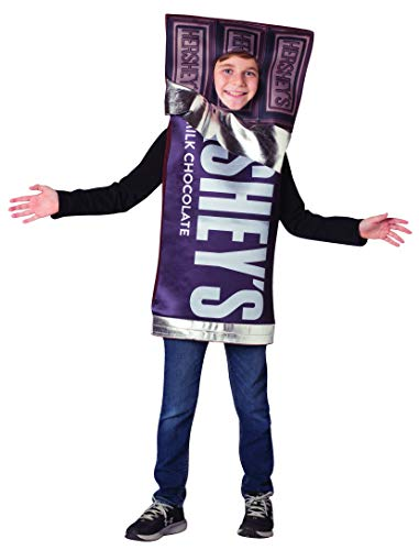 Hershey Chocolate Bar Kids Costume Hershey's Candy Funny Outfit Child Size 7-10