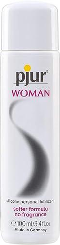 pjur WOMAN - Gel lubrifiant pour femme à base de silicone - Pour du sexe riche en frissons et un plaisir prolongé (10...