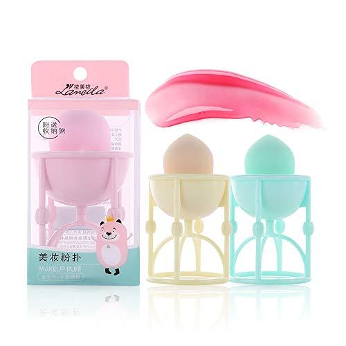 Lenfesh CaractéRistiques De La Base De Maquillage Beauty Gourd Sponge Puff