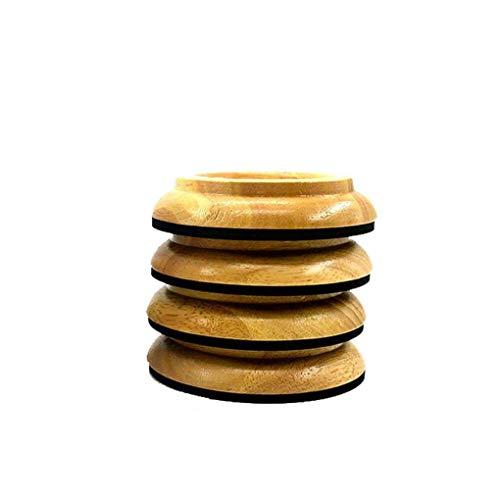 4pcs rosenice Rodamientos para Piano Copa Protecci/ón de Muebles y suelo pies redondos antideslizante de piano verticales
