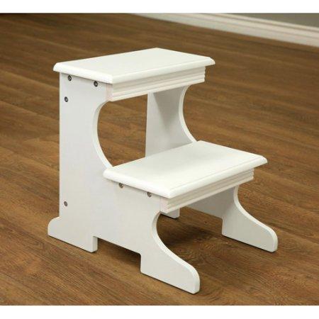 Home Craft Step Stool, White