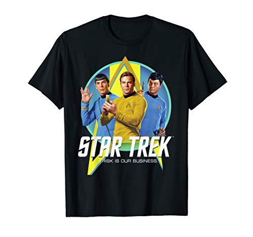 Star Trek Original Series Risk Is Business Premium T-Shirt