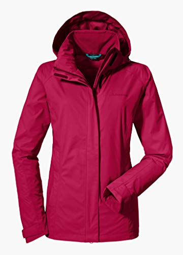 Schöffel Damen Jacket Easy L3 Jacke Unwattiert, persian red, 38