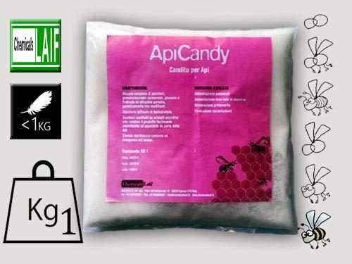 CANDITO per API ApiCandy alimento zuccherino per Apicoltura da kg. 1 (Scatola da 12 Pezzi)