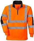 <span class='highlight'><span class='highlight'>Portwest</span></span> Xenon Hi Vis Rugby Sweatshirt - B308