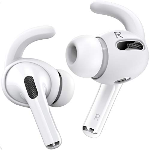 Proof Labs 3 Pairs AirPods Pro Ear Hooks Covers [Added Storage Pouch] Compatible with Apple AirPods...