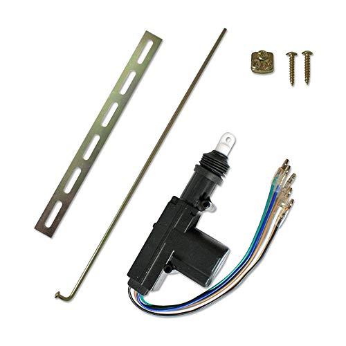 JOM Car Parts & Car Hifi GmbH 7103 Universal-Stellmotor, Master, 5-Polig, als Ersatz oder universell einsetzbar, mit Steuerschalter