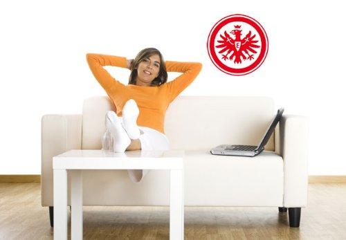 Wandtattoo – Eintracht Frankfurt Logo, 38 cm Durchmesser