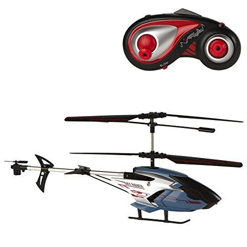 Sky Rover - Helicóptero teledirigido de 6 vías y 3 Canales, Exploiter - 48 x 33 x 21 cm (ColorBaby 41845)