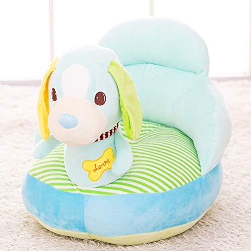 UNCTAD Cartoon-Plüschsitz Aus weichem und bequemem Stoff für Geburtstage, usw - rutschfeste Verschleißfestigkeit Baby Plüsch Stuhl Sofa Mit ReißverschlussC