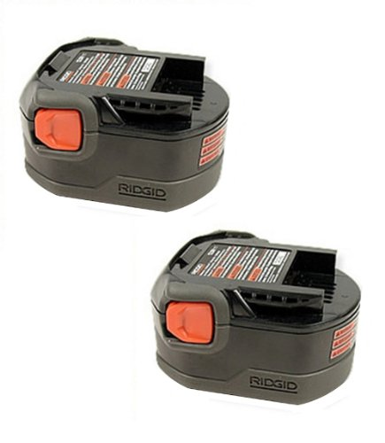Ridgid Replacement 12V 1.25Ah NiCd Battery (2 PACK) # 130252002-2PK