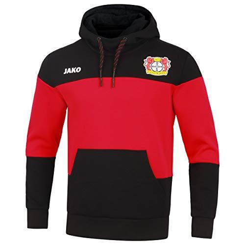 JAKO Kinder Premium, (Saison 19/20) Bayer 04 Leverkusen Kapuzensweat, schwarz, 164