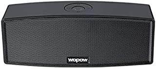 Wopow black bluetooth speaker