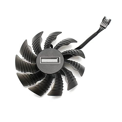 87mm PLA09215S12H 0.55A Reemplazo del Ventilador del refrigerador RTX 2080 2080 TI para GIGABYTE RTX2080 RTX2080TI Fans de la Tarjeta gráfica (Blade Color : 1PCS)