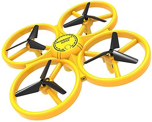 Jjshueryg Elicottero RC Telecomando Quadcopter Auto Hover, Mini Drone per Bambini Principianti Adulti, Giocattolo Aereo Elettrico Auto-Rotazione Ottimo Regalo Giocattolo per Adulti O Bambini Avanzati