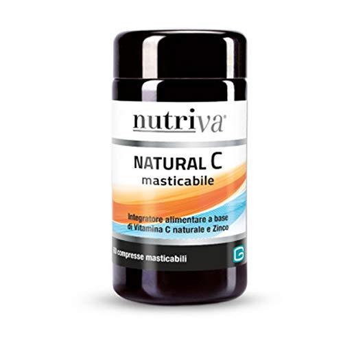 Cabassi & Giuriati Nutriva Natural C 60 Compresse Masticabili