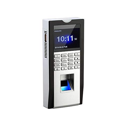 HEQIE-YONGP Timeuhren für Mitarbeiter Kleinunternehmen Büro Biometrische Zeiterfassung Maschine Fingerabdruck-Leser RFID Karten-Zeit-Eintragungs-Tür