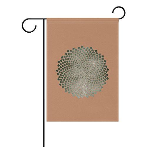 Bennigiry Paisley Vortex Motif Polyester Garden Drapeau Bannière 30,5 x 45,7 cm, Seasonal Jardin Drapeau pour l'extérieur décoratif Drapeau pour mariage, Polyester filé, multicolore, 12x18(in)
