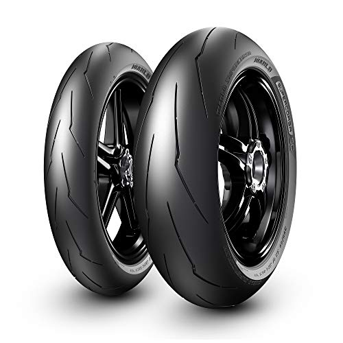 Pirelli 190/55 ZR17 (75W) DiabloSupercorsa V3 SP Rear M/C Motorradreifen