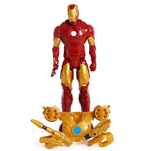 VENDISART Iron Man Weapon Set Plastic Action Figure Collectible Model Toy