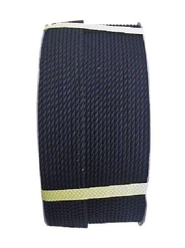 まつうら工業 ビニロン製 ロープ 太さ4mm 長さ200m ドラム巻 黒
