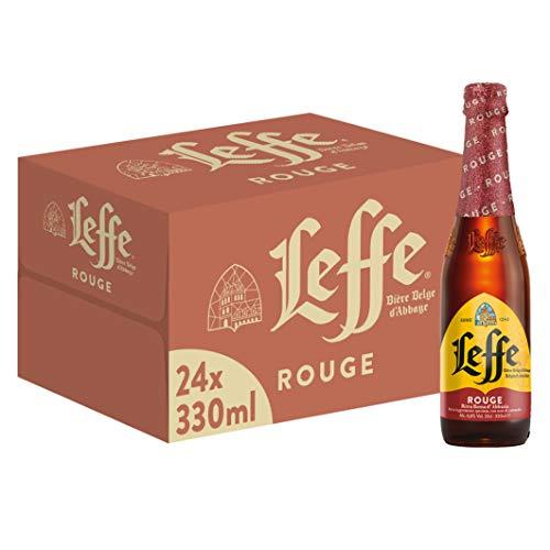 Leffe Rouge Birra - Pacco da 24 x 330 ml