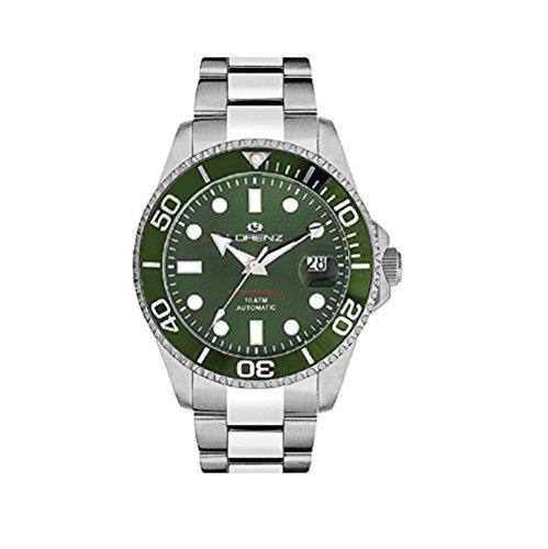 Lorenz Reloj Analógico para Hombre de Automático con Correa en Acero Inoxidable 030081DD