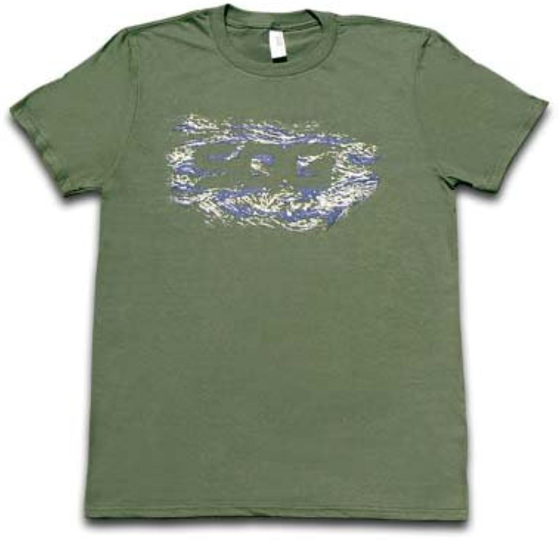 SOG Olive Grün Silhouette Pattern Logo 100% Cotton Large T-Shirt T-Shirt T-Shirt B07D95YQTD  Im Freien f518d2