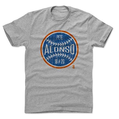 500 LEVEL Pete Alonso Shirt (Cotton, Small, Heather Gray) - New York Men's Apparel - Pete Alonso New York Ball B