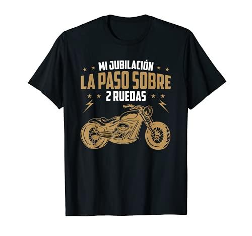 Hombre Motero Biker Regalos Motoristas Moto Mi Plan De Jubilación Camiseta