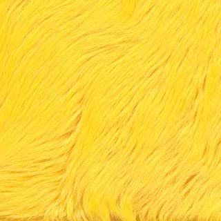 Best yellow fur fabric Reviews