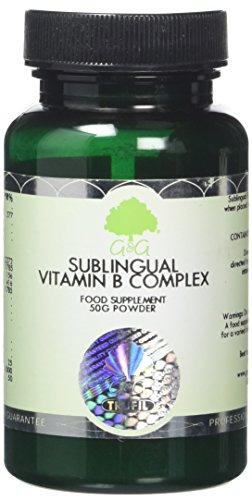 G&G Vitamins Sublingual B Complex Powder