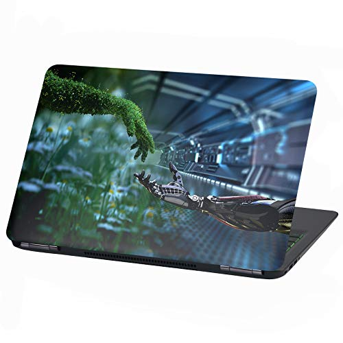 Laptop Folie Cover: Stranger Things Klebefolie Notebook Aufkleber Schutzhülle selbstklebend Vinyl Skin Sticker (17 Zoll, LP8 Green Technology)
