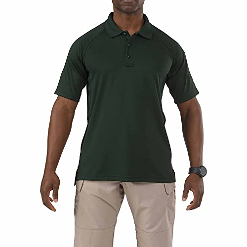 5.11 Performance Polo Homme, L.E. Green, FR (Taille Fabricant : XL)
