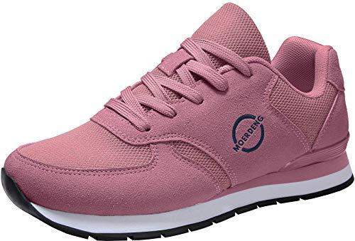 MOERDENG Womens Walking Shoes Lightweight Fashion Road Running Sneaker,Purple,Size:US 10/EU 42