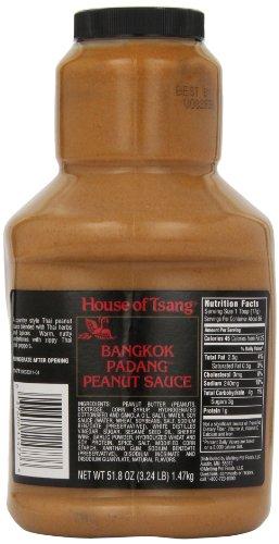 peanut sauce for thai salad - 2