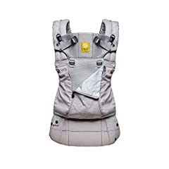 Six Positions: The LÍLLÉbaby Complete All Seasons baby carrier features 6 ergonomic carry styles for 360-degree babywearing. Zip-down front gives control over your child's temperature by revealing our breathable mesh Versatile Carrying: LÍLLÉbaby Com...