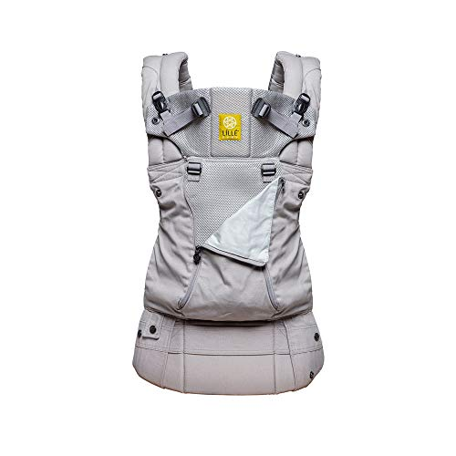 LILLEbaby SIX-Position, 360° Ergonomic Baby & Child Carrier by LILLEbaby – The COMPLETE All Seasons (Stone)